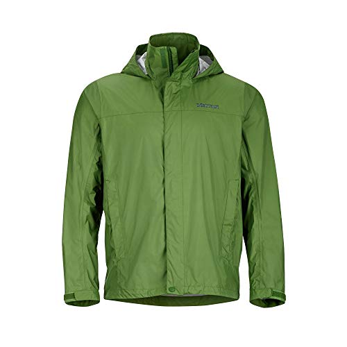Marmot Men's PreCip Jacket: Shell (AlpineGreen, Medium)
