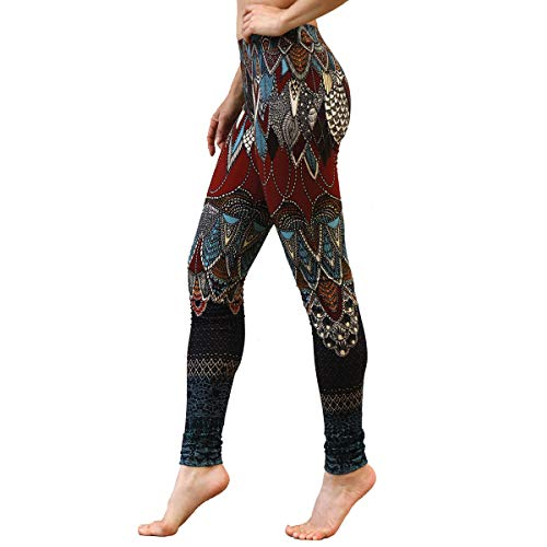 Delicately Hand-Painted & Digitally Printed Leggins, Yoga Pants