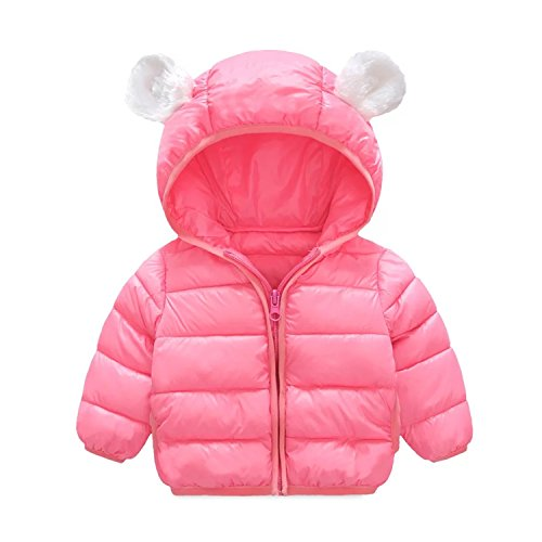Infant and Toddler Baby Boys Girls Winter Warm Cotton Puffer