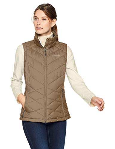 Columbia Heavenly Vest, Large, Truffle