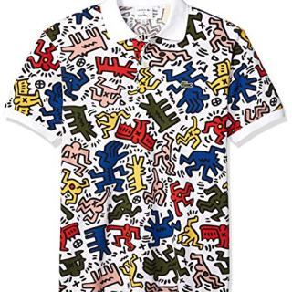 Lacoste Men's S/S All Over Printed Mini Pique Polo Classic FIT