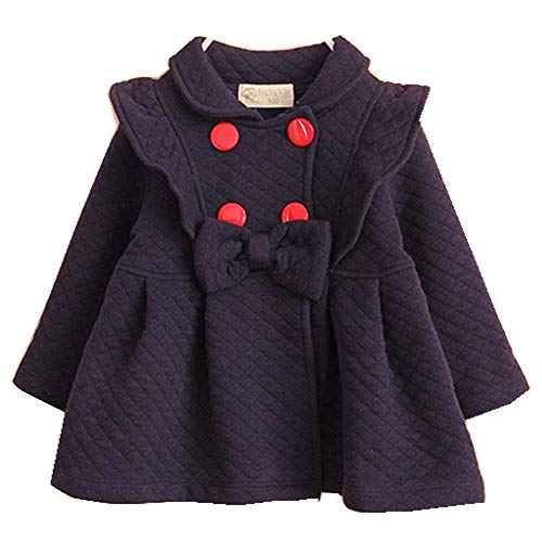 YOBEBE Baby Girls Outwear Trench Coat Jacket 6M-4T Kids Clothes