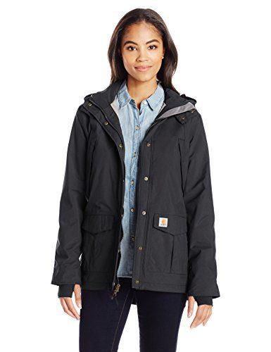 Carhartt Women's Shoreline Jacket, Black, 2X-Large