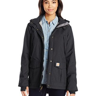 Carhartt Women's Shoreline Jacket, Black, 2X-Large