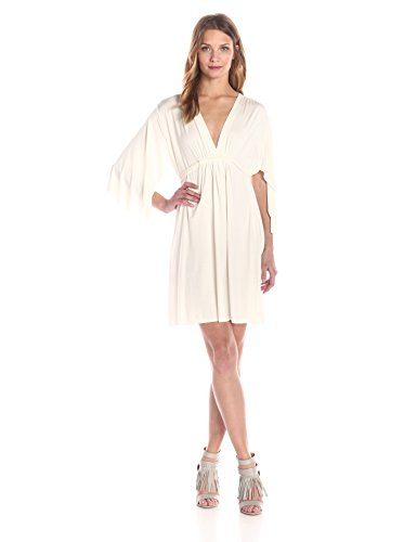 Rachel Pally Women's Mini Caftan Dress, White Small