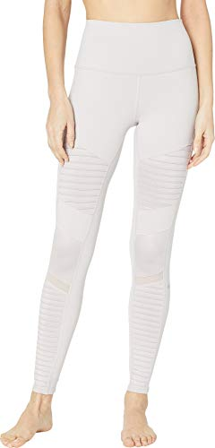 ALO Women's High Waisted Moto Leggings Lavendar Cloud