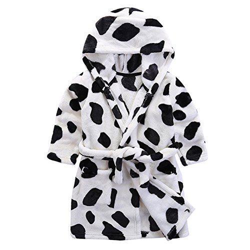 Baby Boy Girl Animal Bathrobe Infant Hooded Robe