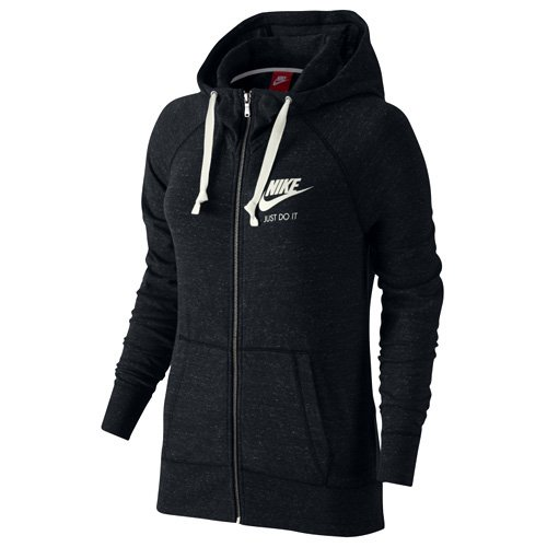 Nike Women's Sportswear Gym Vintage Hoodie Black