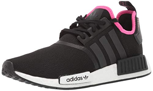 adidas Originals Men's Running Shoe, Black/Shock Pink