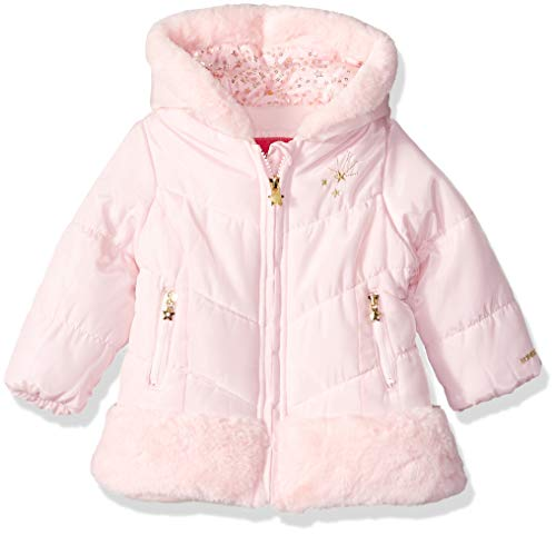 London Fog Baby Girls Shine Warm Winter Jacket