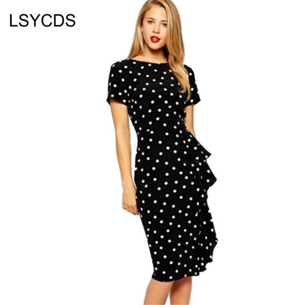 18 Womens Summer Dress Vestidos Vintage Style Rockabilly Polka