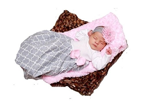 theposhlayette Infant Newborn Baby Girl Coming Home Outfit Layette Gown