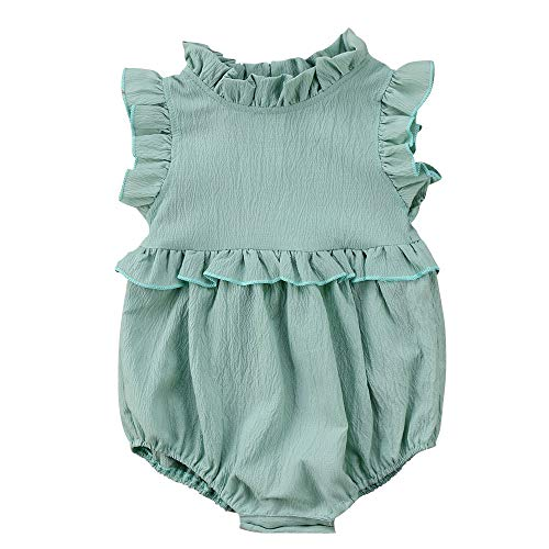 Moolia Infant Baby Girl Lightweight One-Piece Summer