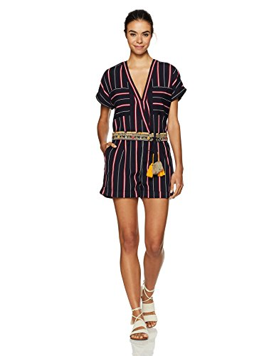 French Connection Women's Hasan Stitch Romper