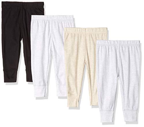 Gerber Baby Boys' 4-Pack Pants, Fox, Newborn