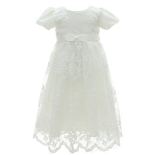 Coozy Baby Girl Dress Flower Christening Baptism
