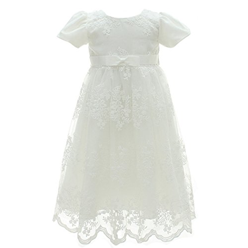 Coozy Baby Girl Dress Flower Christening Baptism