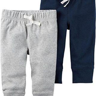 Carter's Baby Boys' 2-Pack Pants Newborn