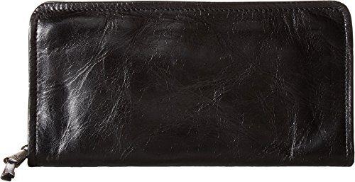 Hobo Women's Vintage Leather Remi Wallet Clutch (Black)