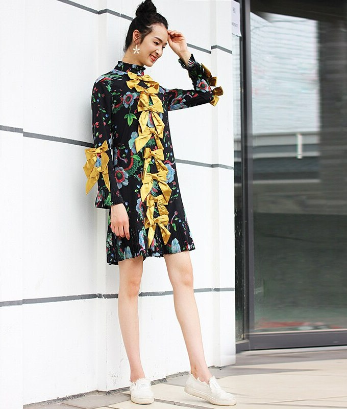 S-XXXL High Quality 18 New Summer Fashion Silk Printing