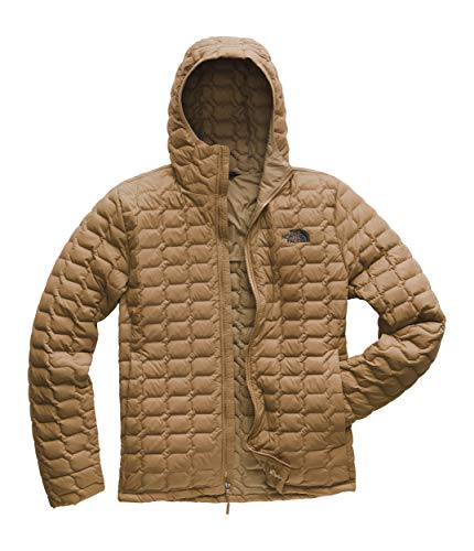 The North Face Men's Thermoball Hoodie Cargo Khaki Matte Small