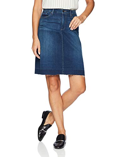 NYDJ Women's 5 Pocket Skirt with Wide Release Hem