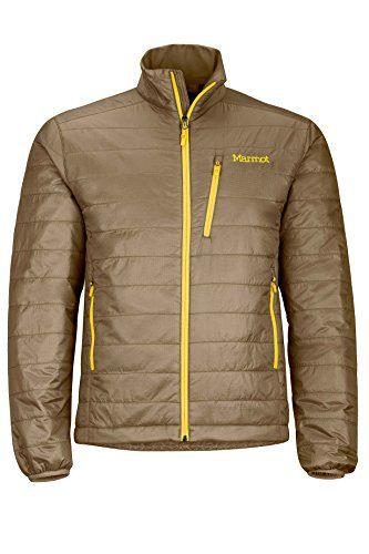 Marmot Calen Men's Insulated Puffer Jacket, Brown Moss