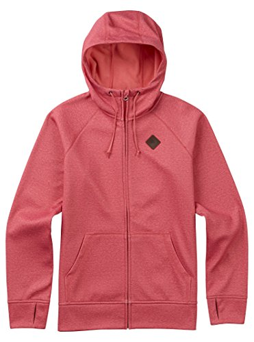 Burton Women's Scoop Hoodie, Coral Heather