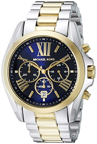Michael Kors Men's Bradshaw Two-Tone Watch