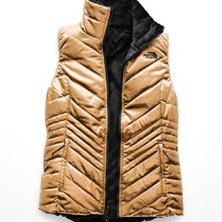 The North Face Women's Mossbud Insulated Reversible Vest Metallic Copper