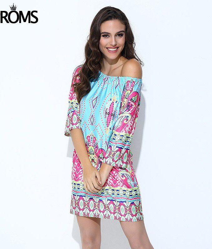 Aproms Boho Elegant Women Summer Dress High Street