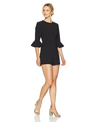 Black Halo Women's Brooklyn Romper, Black