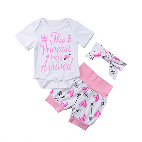 4 pcs Baby Girls Pants Set Newborn Infant Toddler