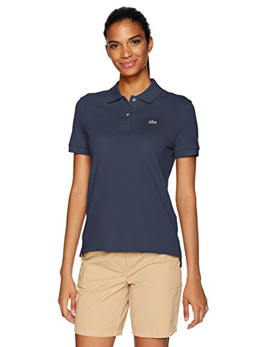 Lacoste Women's Classic Fit Short Sleeve Soft Cotton Petit Piqué Polo