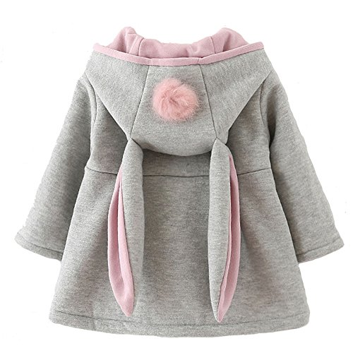 Urtrend Baby Girl's Toddler Fall Winter Coat Jacket