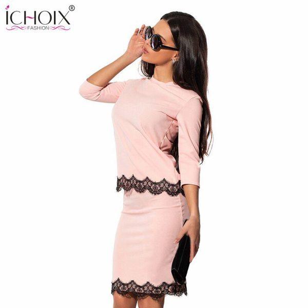 ICHOIX 19 Women's Fashion Vintage Summer Dresses