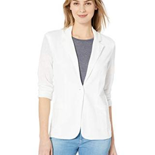 Majestic Filatures Women's Linen Elasthane Long Sleeve