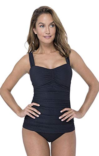 Profile by Gottex Women's Sweetheart Cup Sized Tankini Top Swimsuit