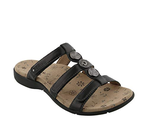 Taos Footwear Women's Prize 3 Black Sandal
