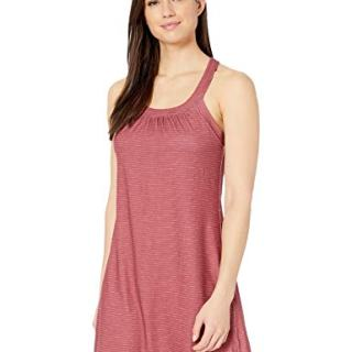 prAna Women's Cantine Dress, Rusted Roof Sea Spray, Large