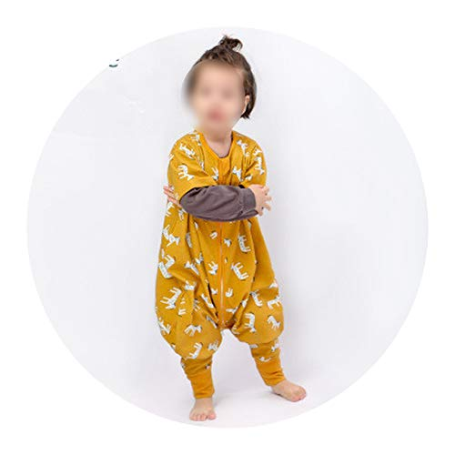 Cotton Single Layer Spring Summer Baby Split-Leg Sleeping Bag