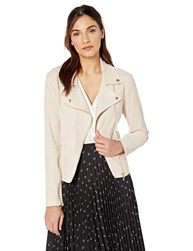 Lyssé Women's Bea Suede Jacket, Champagne L