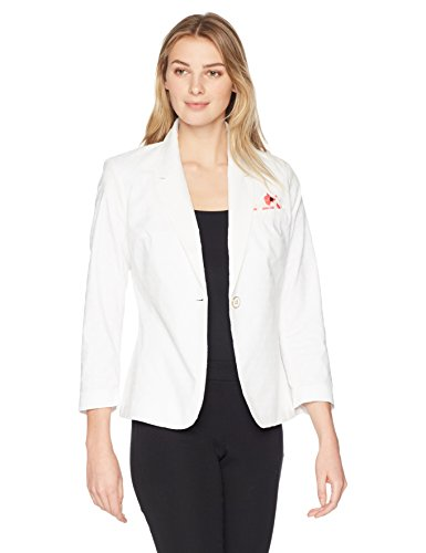 Rafaella Women's Weekend Getaway Blazer, White