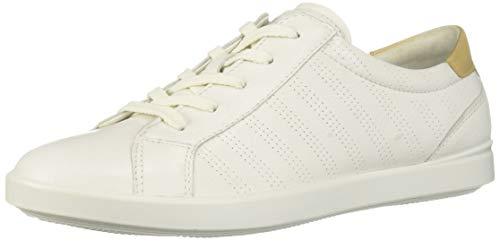 ECCO Women's Women's Leisure Sport Tie Sneaker White/Powder