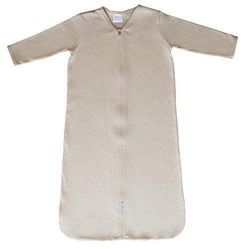 CastleWare Baby- Organic Cotton Rib Knit- Sleeper Bag- Long Sleeve