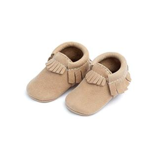 Freshly Picked - Soft Sole Leather Moccasins - Baby Girl Boy Shoes