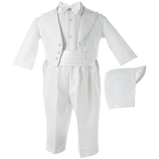 Lauren Madison baby boy Christening Baptism Tuxedo