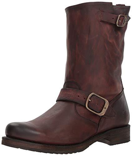 FRYE Women's Veronica Short Ankle Boot, Redwood