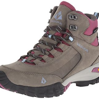 Vasque Women's Talus Trek UltraDry Hiking Boot, Gargoyle/Damson