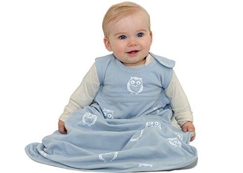 Merino Kids Organic Cotton, Owl Print, Baby Sleep Bag